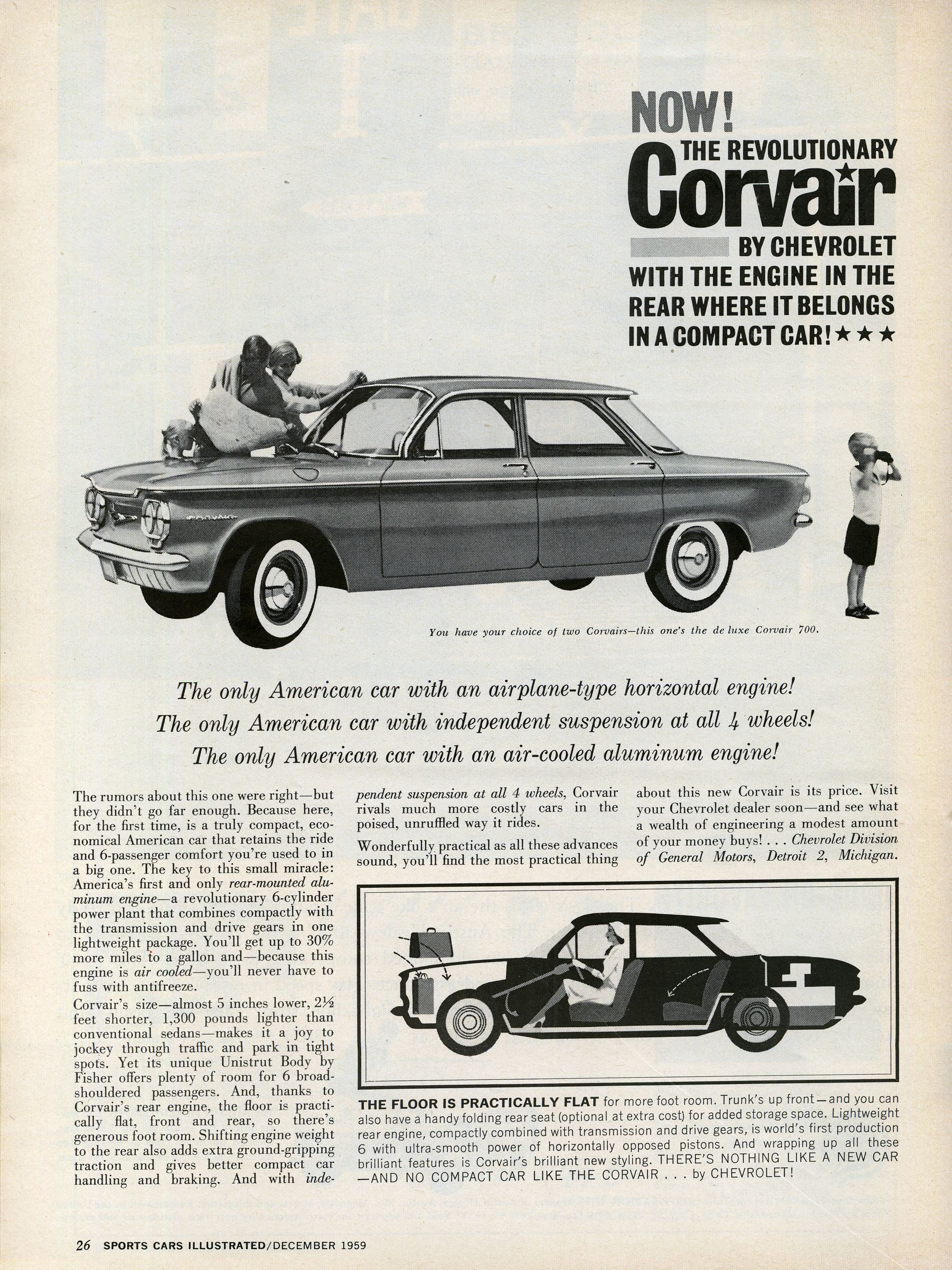 These 29 Car Ads From 60 Years Ago Are Undeniably Cool | Pinterest ...