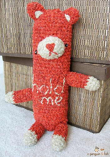 "hold me - red sparkle | finished another ""hold me"" bear. Mad… 