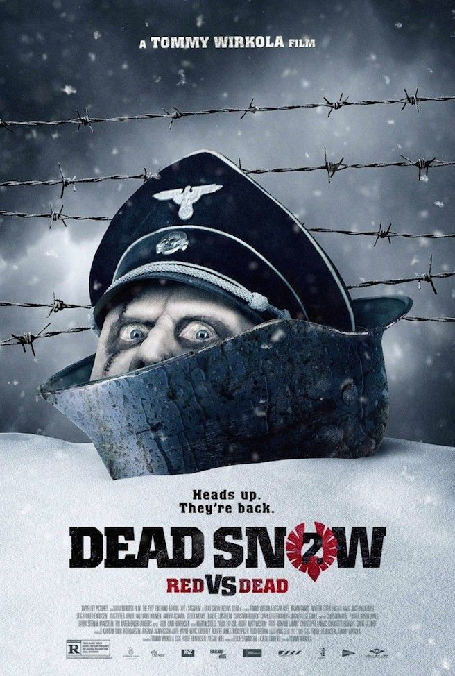 Dead Snow 2 2014 Norway Dead Snow Newest Horror Movies Zombie Movies
