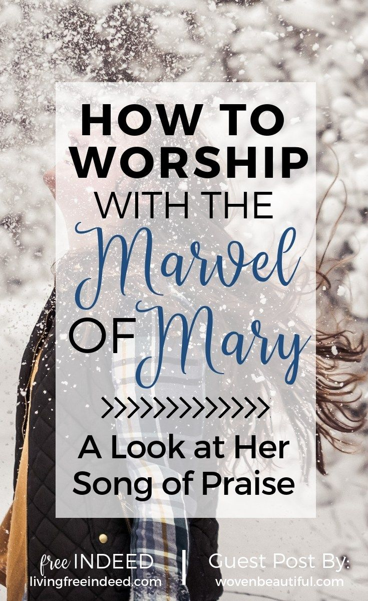 How to Worship with the Marvel of Mary