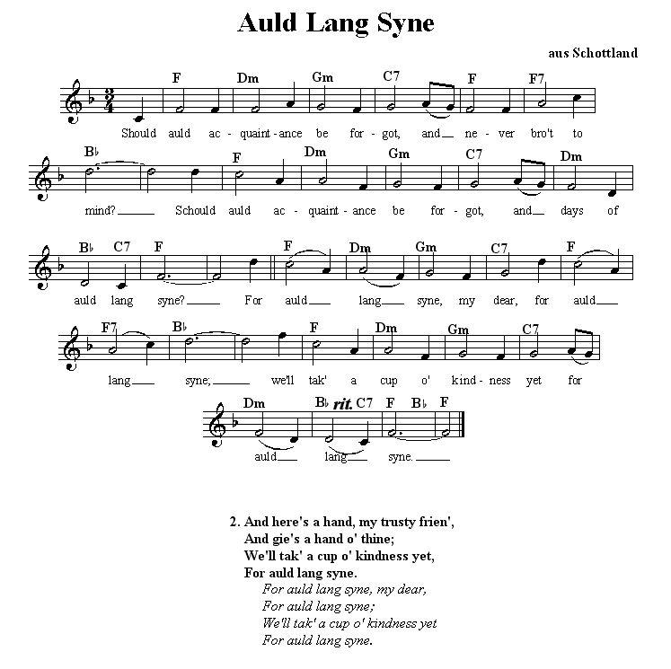 Lyric same old lang syne lyrics : Auld Lang Syne' lyrics This song has always been a bit of a ...