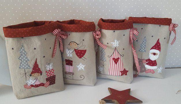 adventskalender adventskalender weihnachten 4 beutel. Black Bedroom Furniture Sets. Home Design Ideas