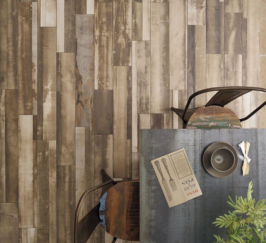 Verouderd hout Maple Beige, verkrijgbaar in 22,5x90 en 15x90 (19 ...