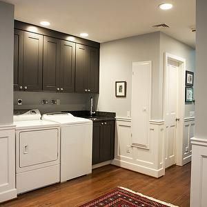 different colored cabinets above the washer dryer grey on home depot paint sale id=77611