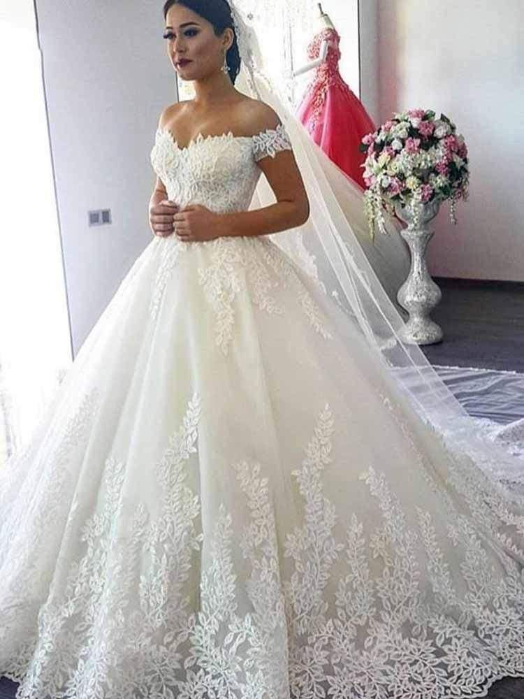 Elegant A Line Wedding Dress With Lace Corset Bodice Cheap Wedding Dress Wedding Dresses Wedding Dresses Simple