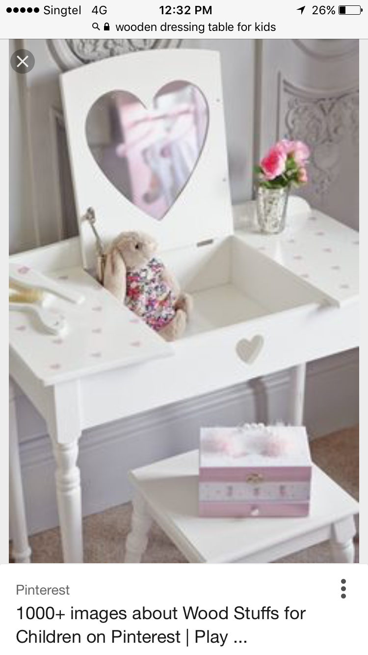 Girls Dressing Table Pin By Valerie Garcia On Gifts In 2019 Kids Dressing Table