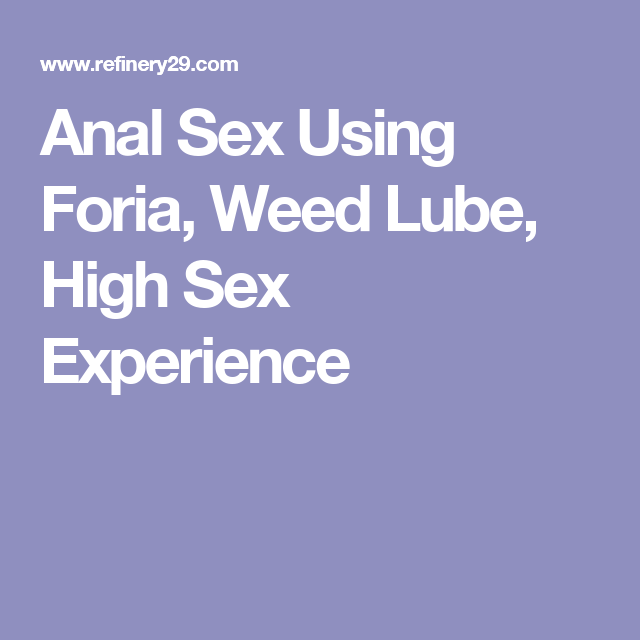 How to have less painful anal sex