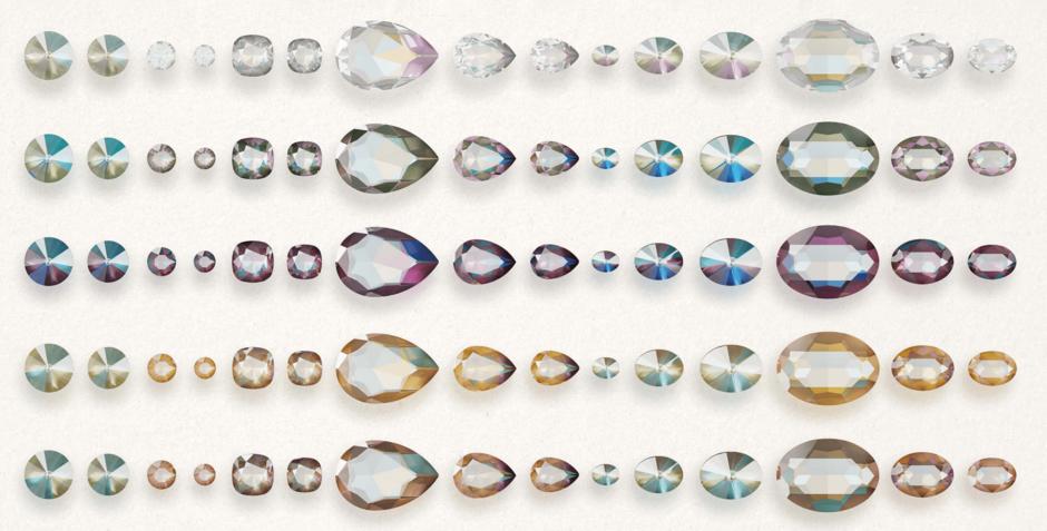 Swarovski Crystal Color Chart 2020.Swarovski Innovations Fall Winter 2019 2020 Be Yourself