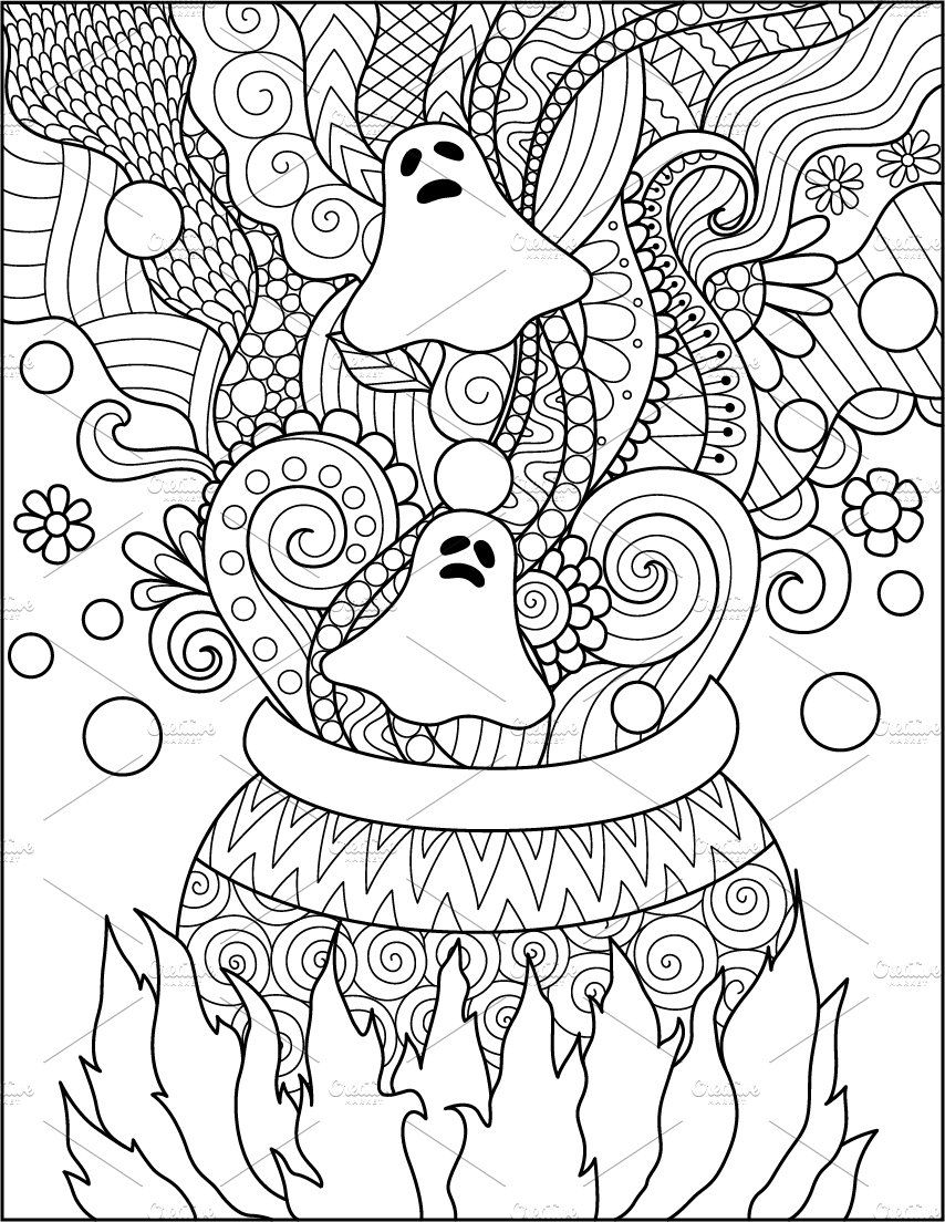14 Halloween Coloring Pages Halloween Coloring Pages Halloween Coloring Book Free Halloween Coloring Pages