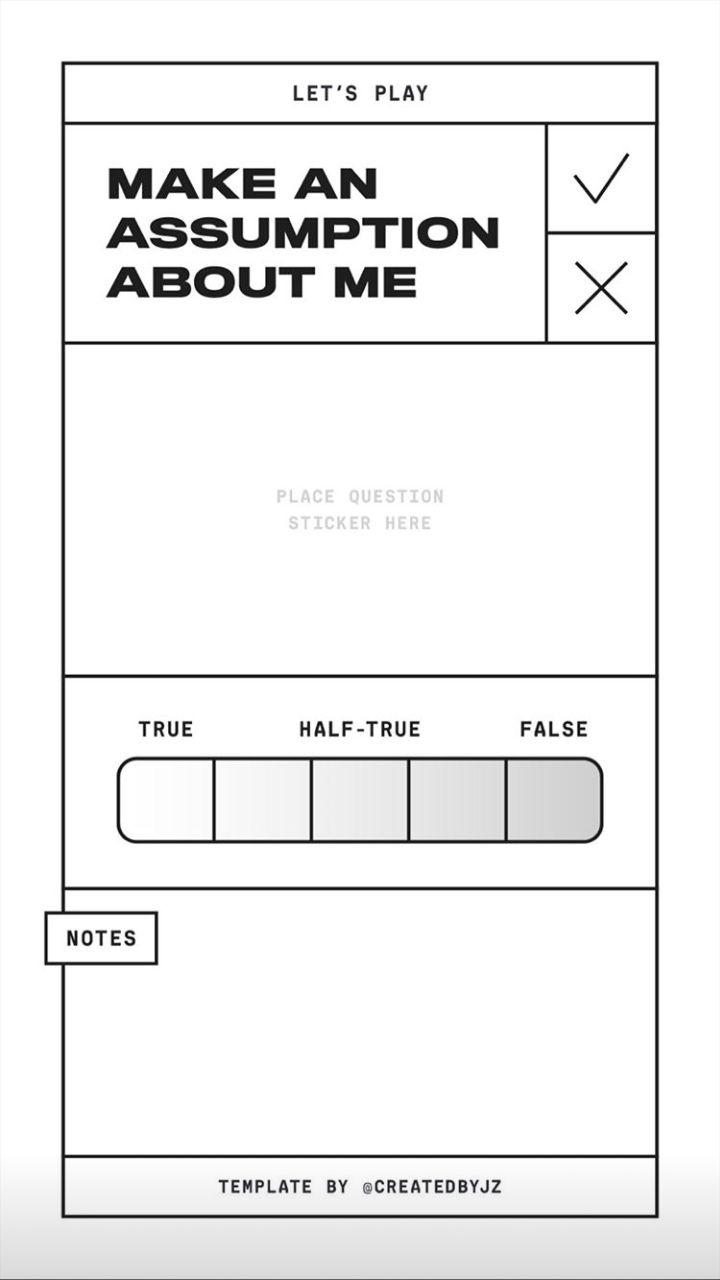 Photo of ?✨  make an assumption about me