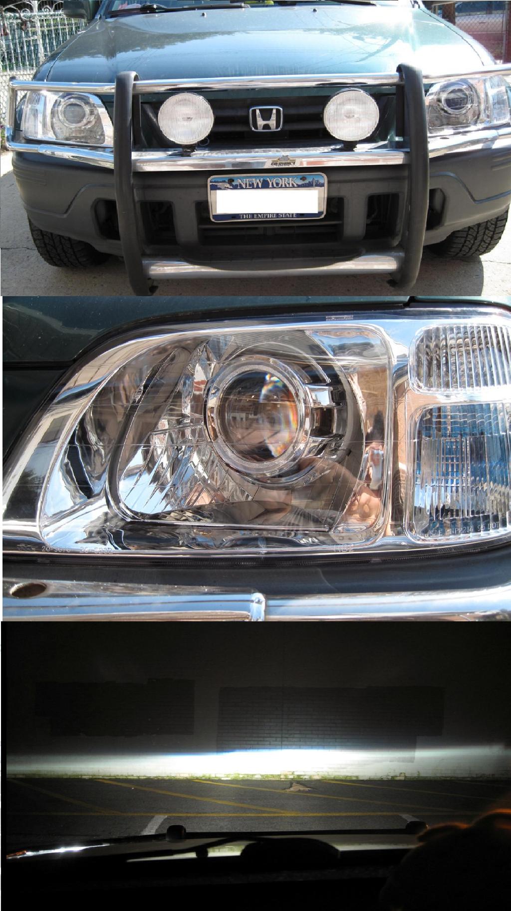 1997 - 2001 Honda CR-V E46 Bi-Xenon Cayenne HID Retrofit