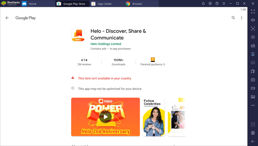 Download Install Helo App On Your Pc Windows 10 8 7 App Helo App Parental Guidance