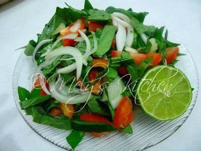 Sweet Potato Tops Salad Potatoe Salad Recipe Potato Salad Recipe Easy Salad Dishes