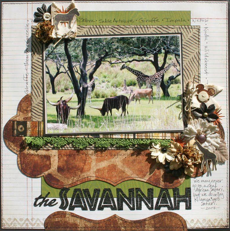 Creatively Savvy: the Savannah Animal Kingdom or Busch Gardens