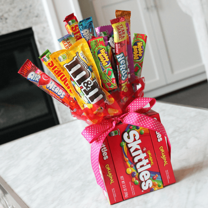 DIY Candy Bouquets For Valentines Day, Birthdays & More
