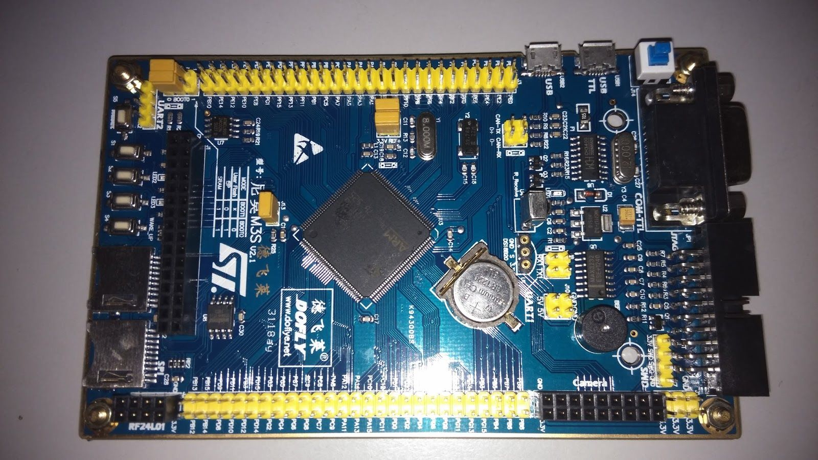 Arduino For Beginners Uploaded Blink Example To A Stm32 Advanced Led Circuit