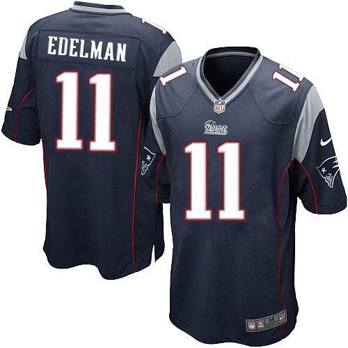 premium selection 2388a 1dd25 Julian Edelman #11 New England Patriots NFL Nike Elite ...