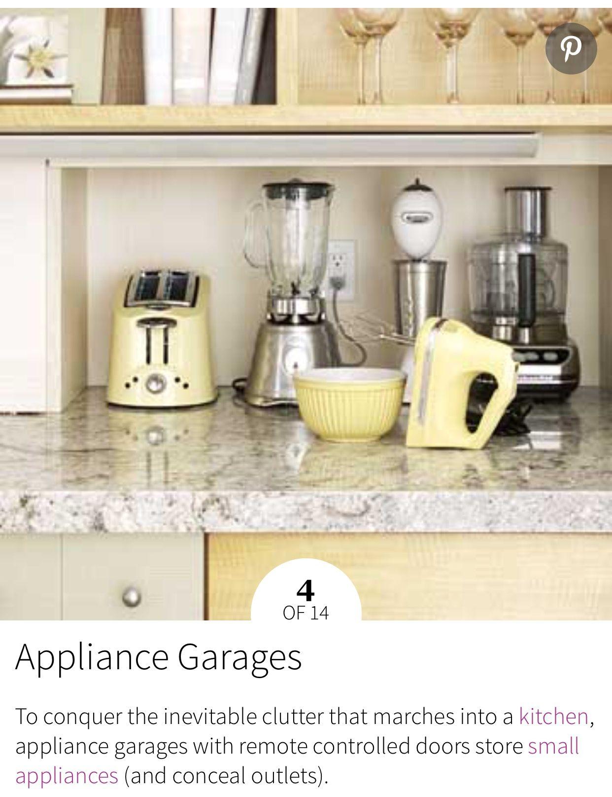 Idea By Tam On Organiser Kitchen Appliance Storage Outdoor Kitchen Appliances Outdoor Kitchen