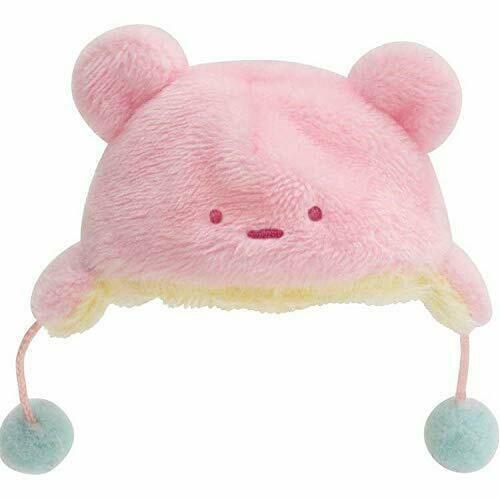 Sumikko Gurashi Hat with Ears Costume for mini Plush Collection San-X Japan