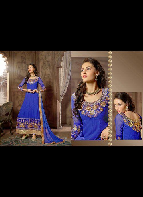 Majesty Blue Salwar Kameez