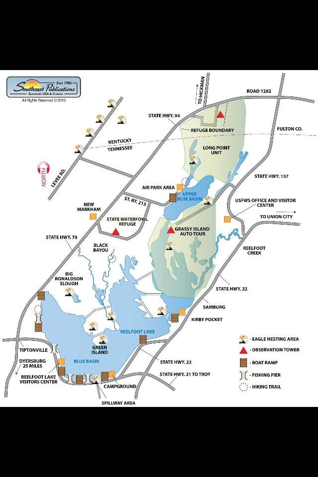 Reelfoot Lake Tennessee Map.Reelfoot Lake Favorite Places Spaces Places Vacation