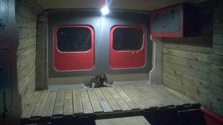Kit amenagement fourgon camping car renault master