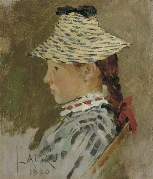 Theodore Robinson, Portrait of Laurie