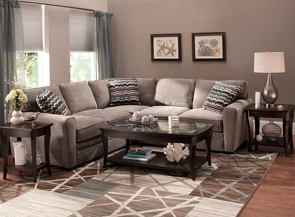 Microfiber Sectional Sofa | Sectional Sofas | Raymour and Flanigan : raymour and flanigan sectionals - Sectionals, Sofas & Couches