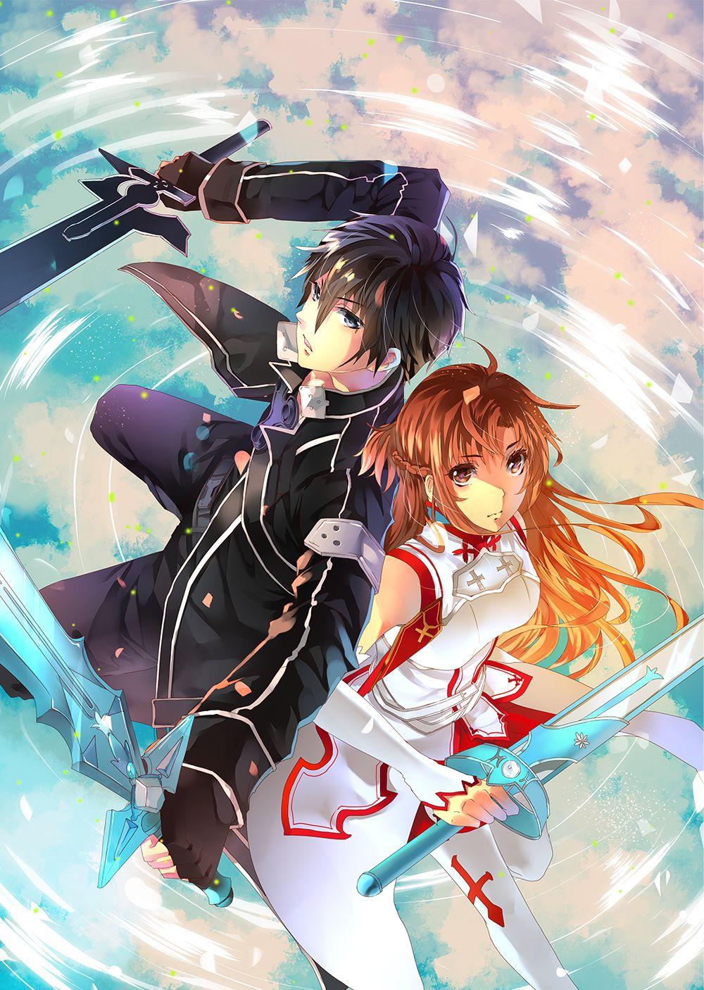 Sword Art Online Fanart By Aiki Ame On Deviantart Sword Art Online Wallpaper Sword Art Online Kirito Sword Art