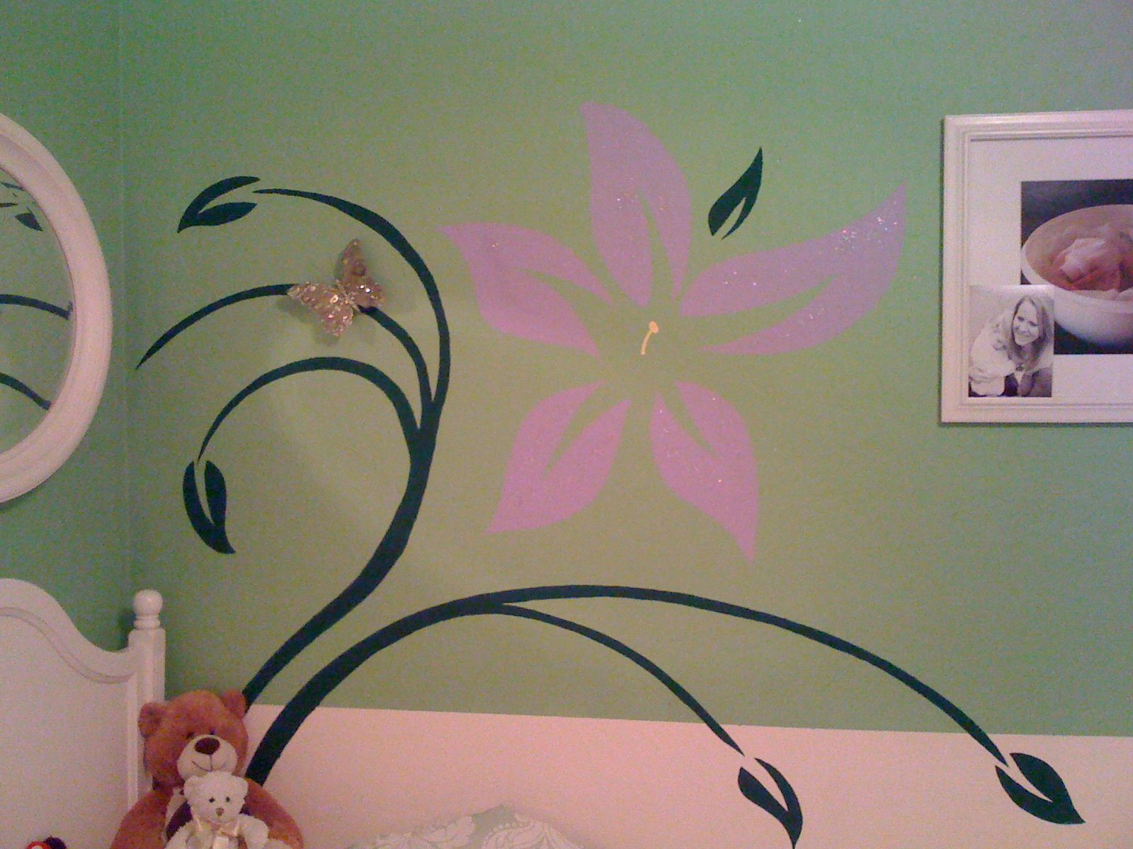 Tinker bell theme room
