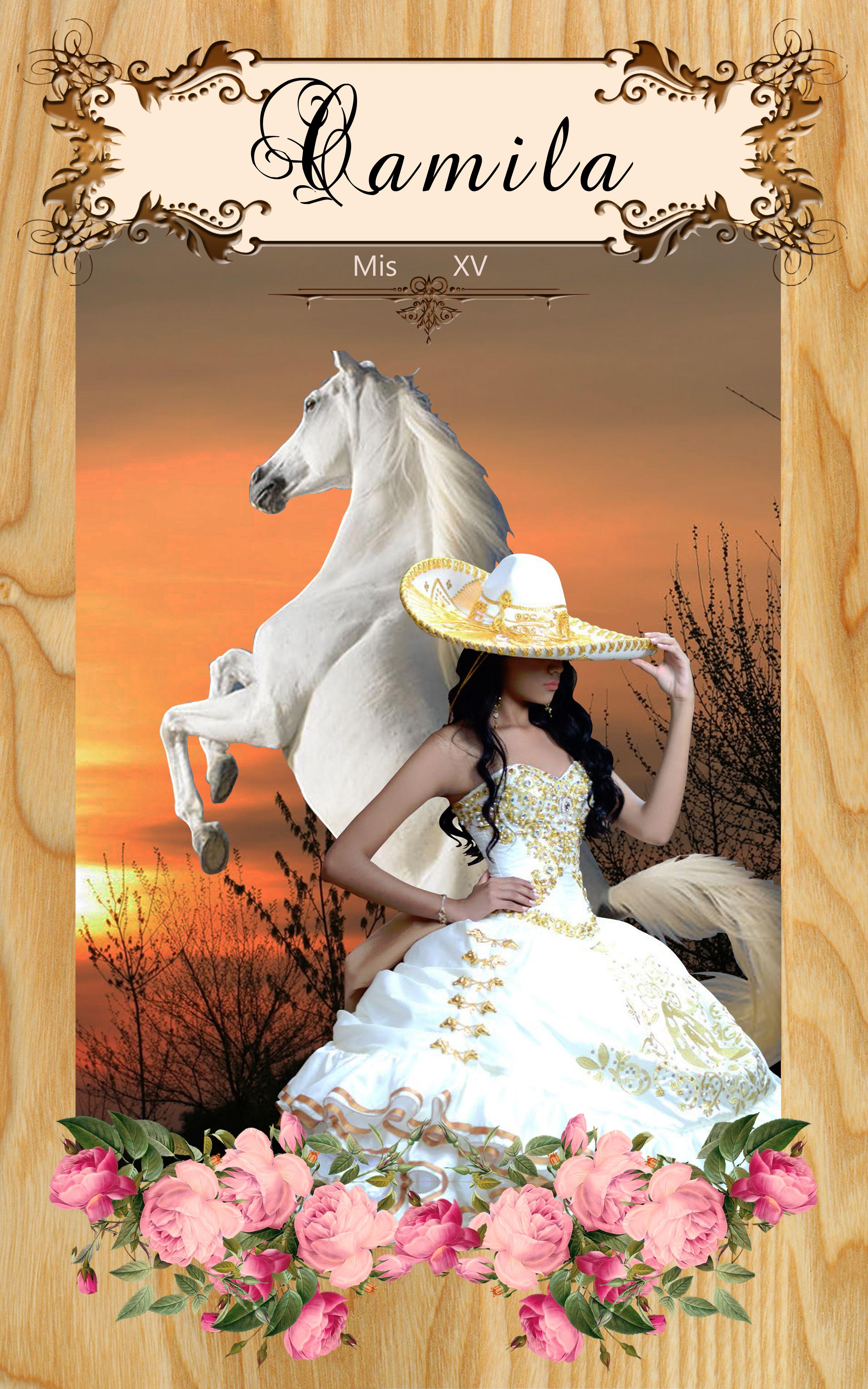 Charra Quinceanera Inviations Xv Años Creative Designs For
