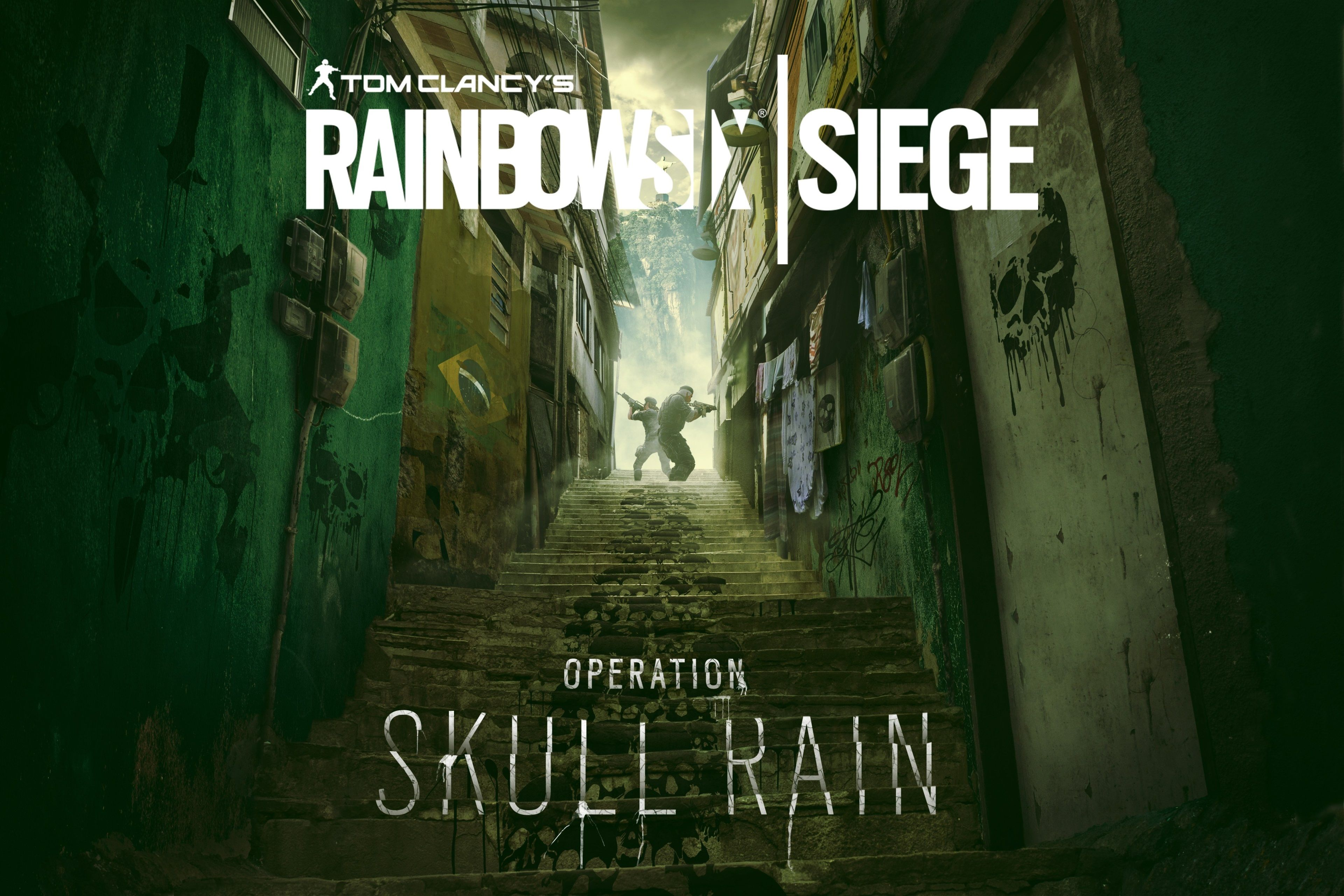 3840x2560 Operation Skull Rain 4k Hd Wallpaper Widescreen With Images Rainbow Game Art