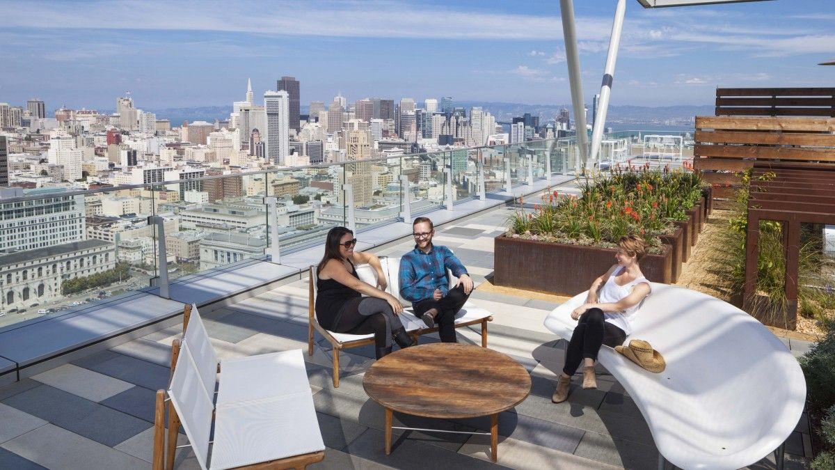 100 Van Ness Rooftop Cmg Landscape Architecture Landscape Architecture Rooftop Architecture