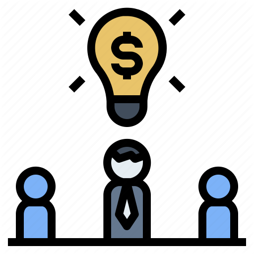 Businessman Idea Investor Opportunity Strategy Icon Download On Iconfinder Business Man Icon Vector Pattern