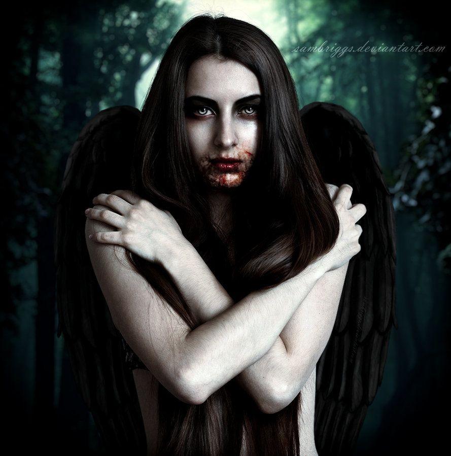 ' Dark Angel III '   by Sam Briggs