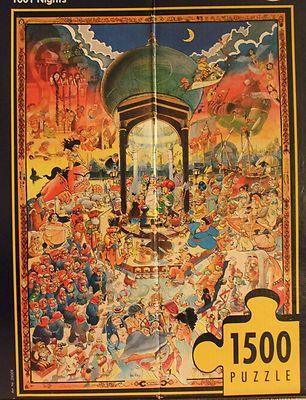 1001 Nights by Hugo Prades, Heye, 1500 pieces