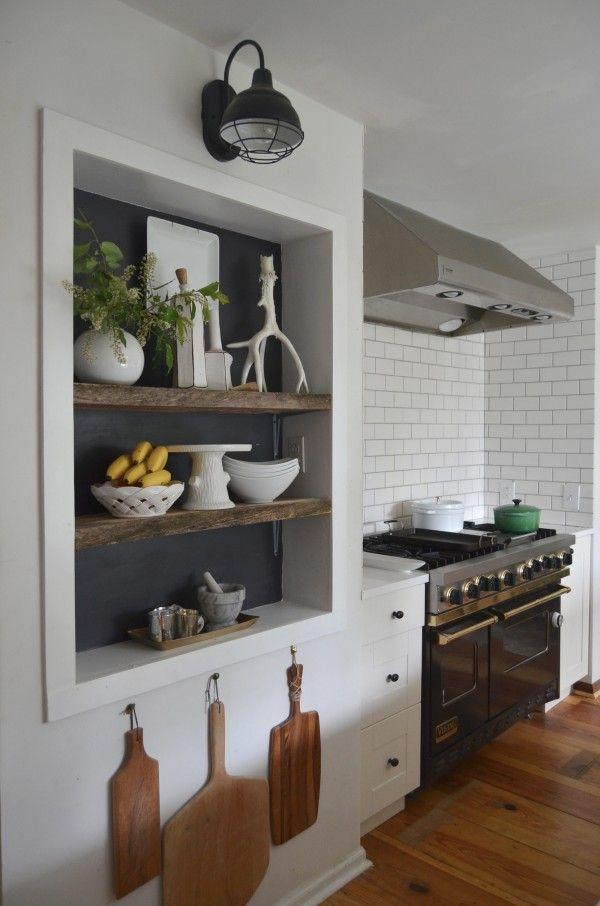 Unlock Hidden Storage Display Recessed Shelves Kitchen Niche