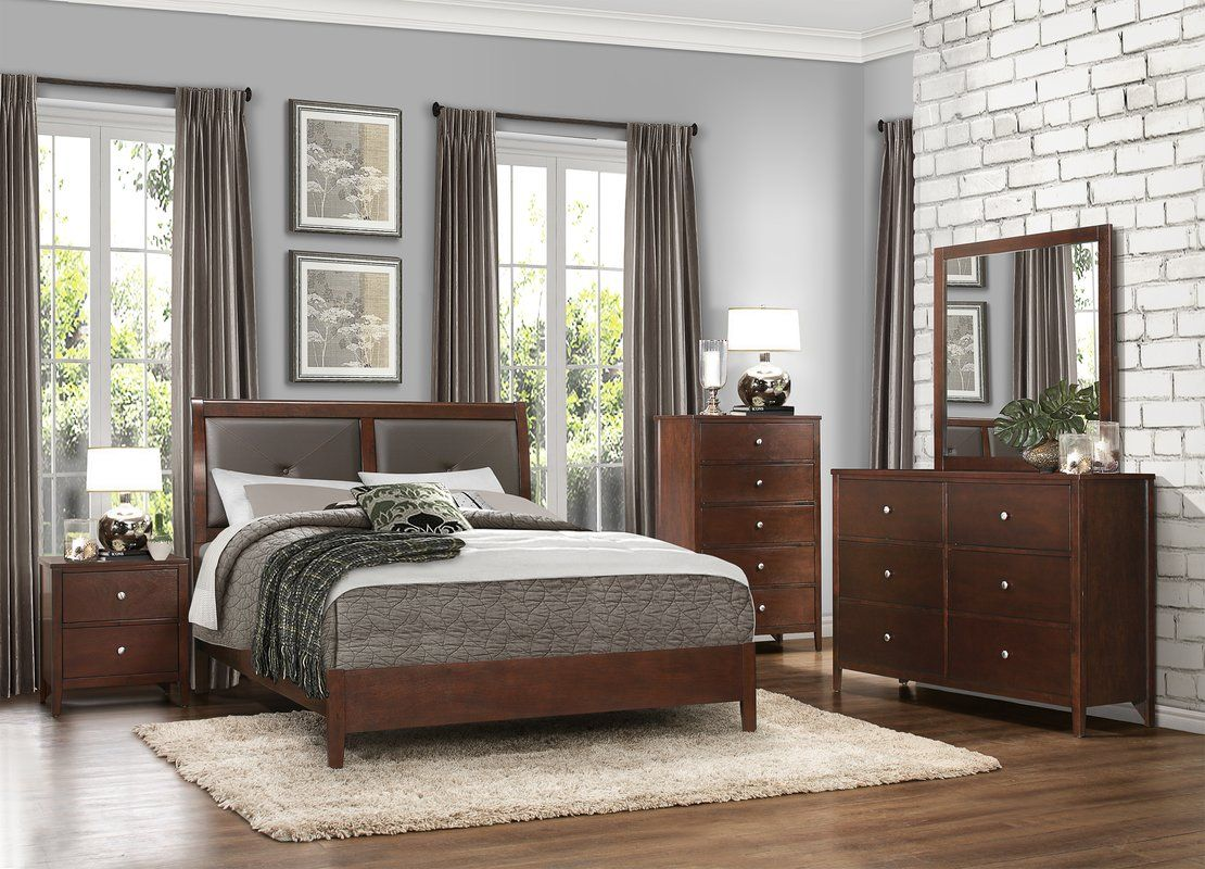 Darby Home Co Ketcham Platform Configurable Bedroom Set