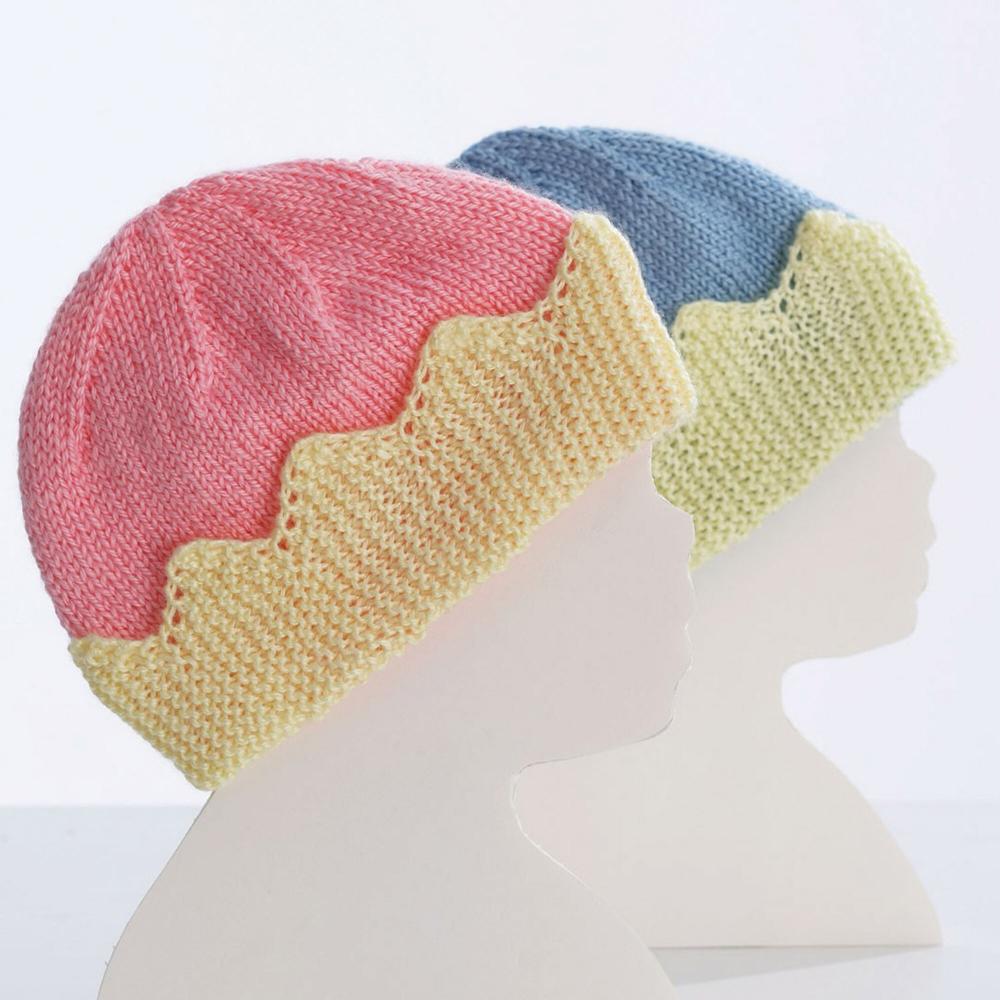 Bernat King/Queen Baby Hats, Queen Pattern ...