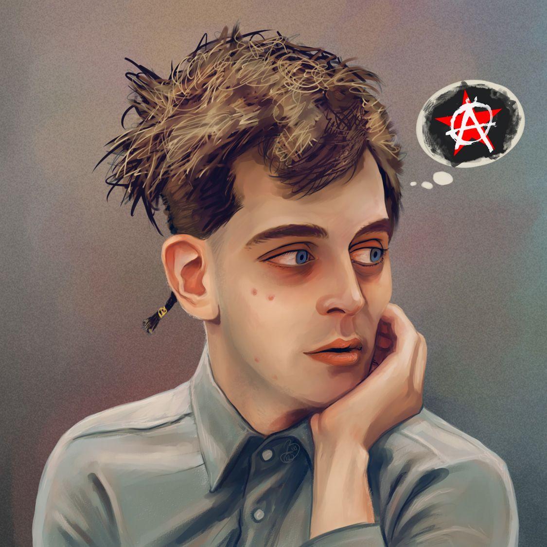 Wannabe Anarchist by Elusive-Angel.deviantart.com on @DeviantArt