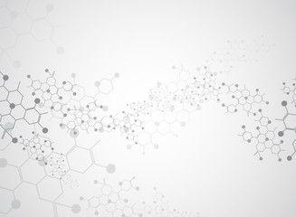 Abstract background medical substance and molecules. – Acquista questo vettoriale stock ed esplora vettoriali simili in Adobe Stock