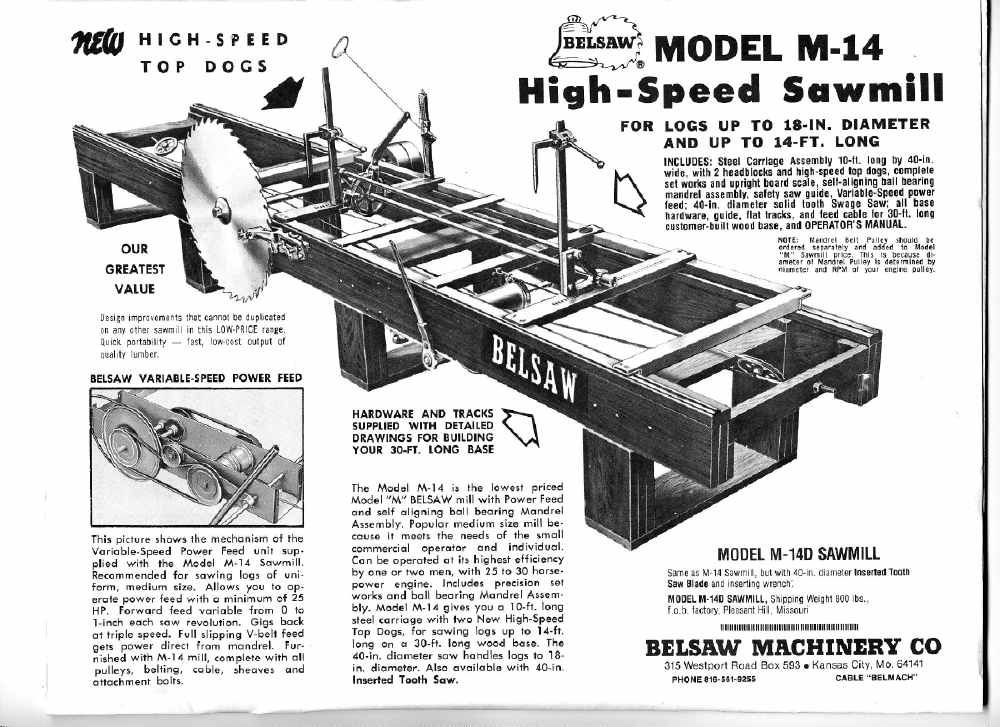 Image Result For Foley Belsaw Sawmill Saw Mill Small Saw