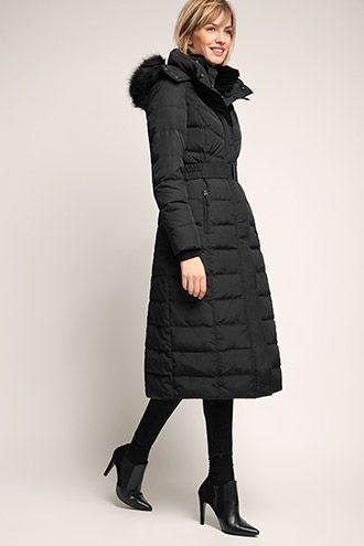 Nice Esprit long down coat - similar to the Long Tall Sally coat ...