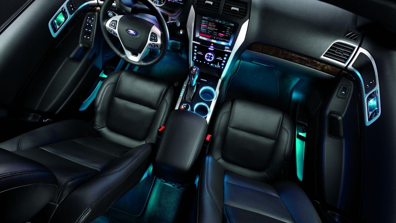 Export ford explorer 2015 interior details