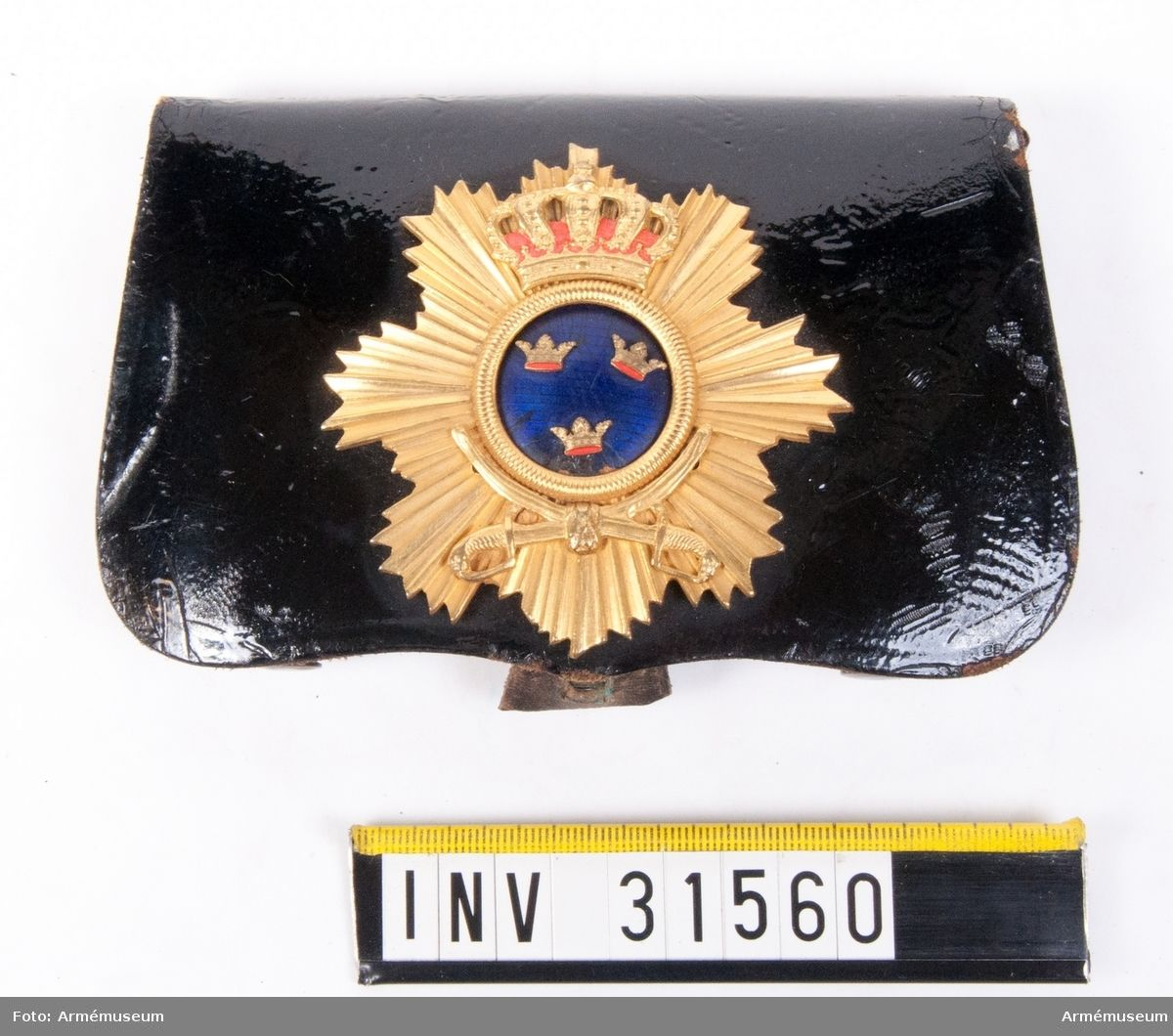 Cartouche Box m1895 for Officers at the Life Regiment Dragoons.