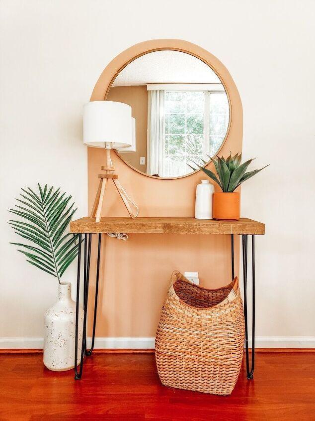 Cheap and Easy DIY Entryway Decor Idea