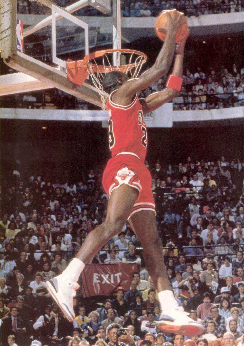 best service a884d f31e5 Sneaker Watch: Michael Jordan Wearing The 'Cement' Air ...