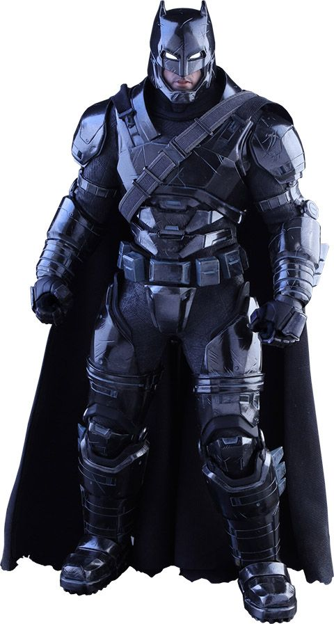 Armored Black Chrome Version Batman Sixth Scale Figure With