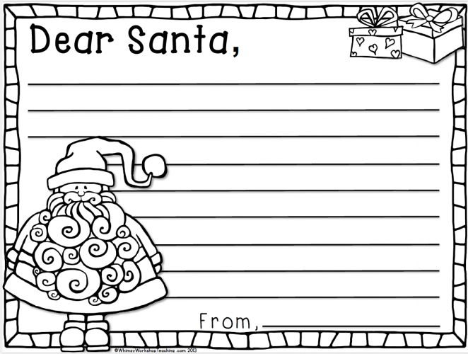 dear santa letter template free kindness screens student and 21322 | 90a9055f43ec7c681c086509e3c613a1