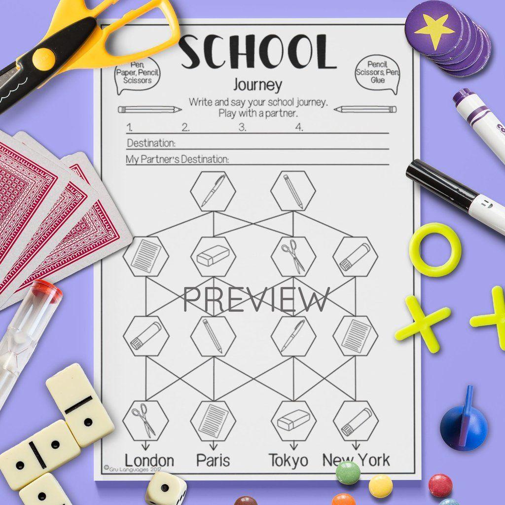 School Journey Game